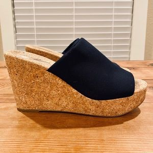 Lucky Brand Marilyn Cork Wedge Sandals